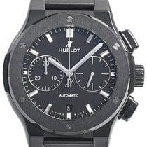 Hublot Classic Fusion Chronograph Керамика 45mm Черный Без цифр