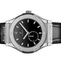 Hublot Classic Fusion Ultra-Thin Titanium 45mm Black No numerals United States of America, Florida, Aventura