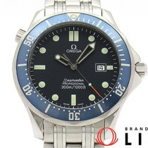 Omega 2541-80 Steel Seamaster 41mm pre-owned