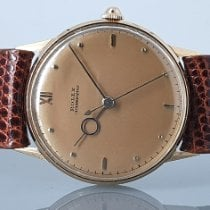 Rolex Rose gold Manual winding 34mm pre-owned Oyster Precision