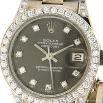 Rolex Or blanc Remontage automatique 25.5mm occasion Lady-Datejust