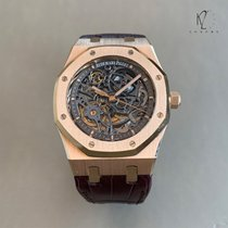 Audemars Piguet Royal Oak Selfwinding Or rose 39mm Noir Sans chiffres