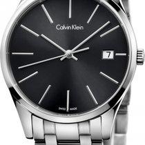 ck Calvin Klein new Steel Sapphire crystal