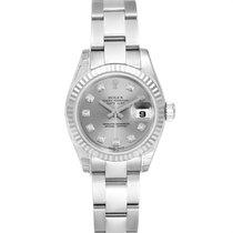 Rolex Lady-Datejust nuevo 2005 Automático Reloj con estuche original 179174