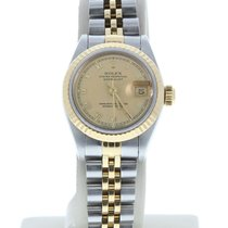 Rolex 69173 Or/Acier 1990 Lady-Datejust 26mm occasion