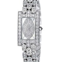 Harry Winston new Quartz Small seconds 21.4mm White gold
