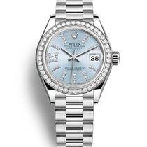 Rolex 279136 Platino 2020 Lady-Datejust 28mm nuevo