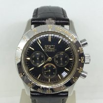Zenith El Primero Chronograph pre-owned 40 mmmm Black Leather