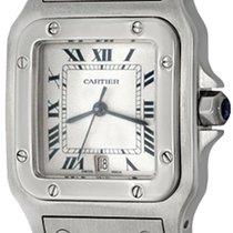 Cartier Santos Galbée Steel 29mm Silver Roman numerals United States of America, Texas, Dallas