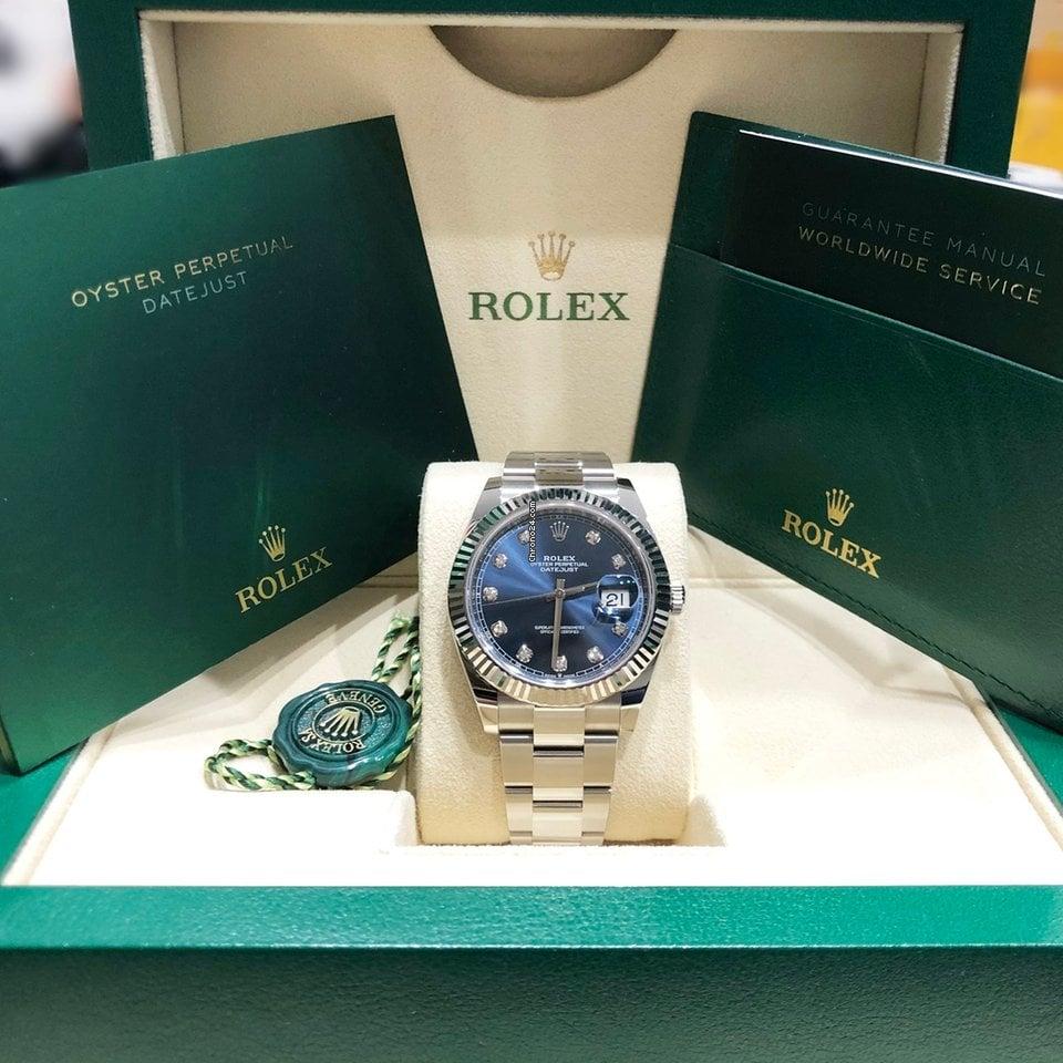 Rolex Datejust 126334 2021 nieuw