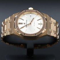 Audemars Piguet Royal Oak Selfwinding подержанные 41mm Белый Дата Pозовое золото