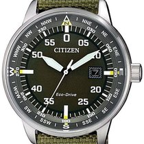Citizen Steel 42mm BM7390-22X new
