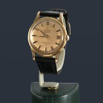 Omega Rose gold Automatic Gold No numerals 34mm pre-owned Constellation