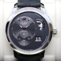 Glashütte Original PanoMaticLunar XL Steel 42mm Grey No numerals