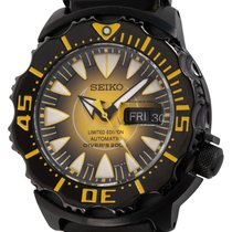 Seiko Monster Steel 41mm Black United States of America, Texas, Austin