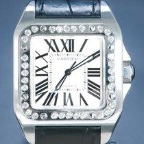 Cartier Santos 100 Steel 41mm Silver Roman numerals