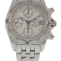 Breitling Chrono Cockpit Steel 39mm Silver United States of America, New York, New York