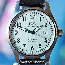 IWC Pilot Mark Steel 20mm Arabic numerals United States of America, Missouri, Chesterfield