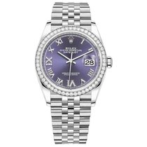 Rolex Datejust new Automatic Watch with original box and original papers 126284RBR AUDR69J