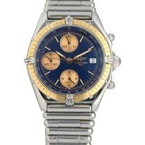 Breitling Chronomat Acero 39mm Azul