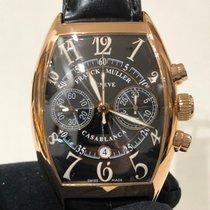 Franck Muller Casablanca Rose gold 39.60mm Black