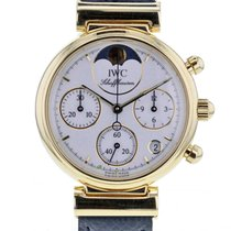 IWC Da Vinci Chronograph 3736 Yellow gold 29mm Quartz
