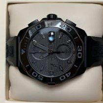 泰格豪雅 Aquaracer 300M 钛 43mm 黑色 无数字