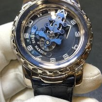 Ulysse Nardin Freak Or blanc 44.5mm Bleu