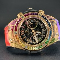 Hublot Big Bang Unico Oro rosa 45mm Transparente
