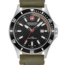 Swiss Military Hanowa Flagship Steel 42mm Black
