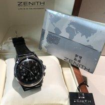 Zenith El Primero Acciaio 38mm Nero Senza numeri Italia, Milano