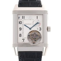 Jaeger-LeCoultre Platinum Manual winding Silver 38mm pre-owned