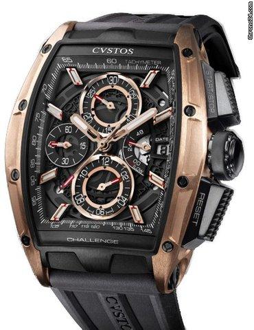 Cvstos Challenge CHALLENGE CHRONO II BLACK GOLD GT 2021 new