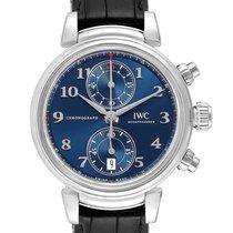 IWC Da Vinci Chronograph Steel 42mm Blue Arabic numerals United States of America, Georgia, Atlanta