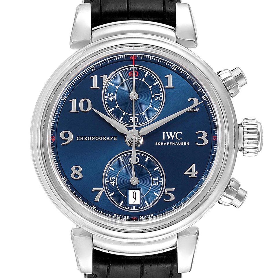 IWC Da Vinci Chronograph IW393402 2018 подержанные