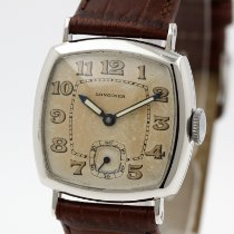 Longines Platinum Manual winding Arabic numerals 27.5mm pre-owned