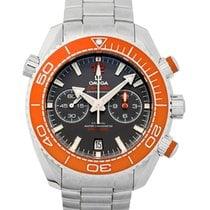 Omega Seamaster Planet Ocean Chronograph 215.30.46.51.99.001 Neu Stahl 45.5mm Automatik