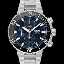 Oris Aquis Chronograph 45.50mm Blue United States of America, California, Burlingame