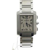 Cartier Tank Française new 2020 Quartz Watch with original box and original papers W51024Q3