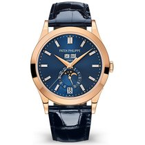 Patek Philippe Annual Calendar Rose gold 38.5mm Blue United States of America, New York, New York