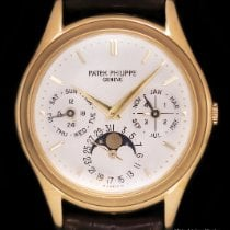 Patek Philippe Perpetual Calendar Yellow gold 36mm Silver No numerals United States of America, New York, New York