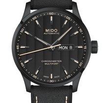 Mido Multifort Acier 42mm Noir