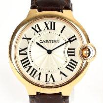 Cartier Ballon Bleu 40mm Pозовое золото 40mm Cеребро Римские