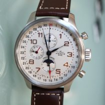 Zeno-Watch Basel OS Retro Ατσάλι 47.5mm Σαμπανιζέ χρώμα
