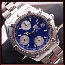 TAG Heuer 2000 Steel 39mm Blue No numerals