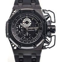 Audemars Piguet Royal Oak Offshore Chronograph Titane 42mm Noir Sans chiffres
