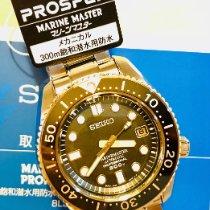 Seiko Marinemaster Steel 50,5mm Black No numerals