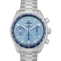 Omega Speedmaster Ladies Chronograph new Automatic Watch with original box and original papers 324.30.38.50.03.001