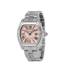 Cartier Roadster Steel 36.5mm Pink Roman numerals United States of America, New York, Hartsdale
