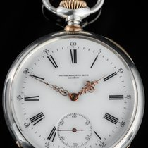 Patek Philippe Silver Manual winding White Roman numerals 62mm pre-owned Vintage